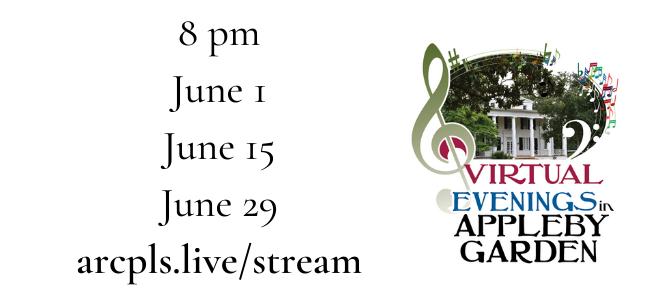 Virtual Appleby Concert Series