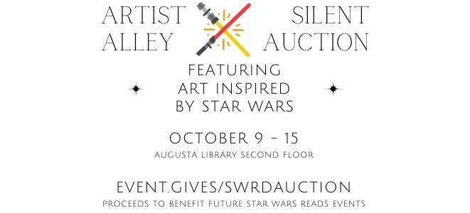 Star Wars Reads Artist Alley + Silent Auction
