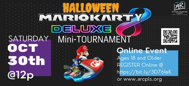 Adult Halloween MarioKart-y