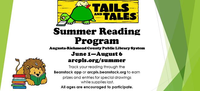 Join the Summer Reading Program!