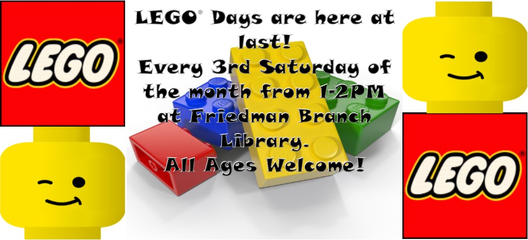 Lego Days @ the Library