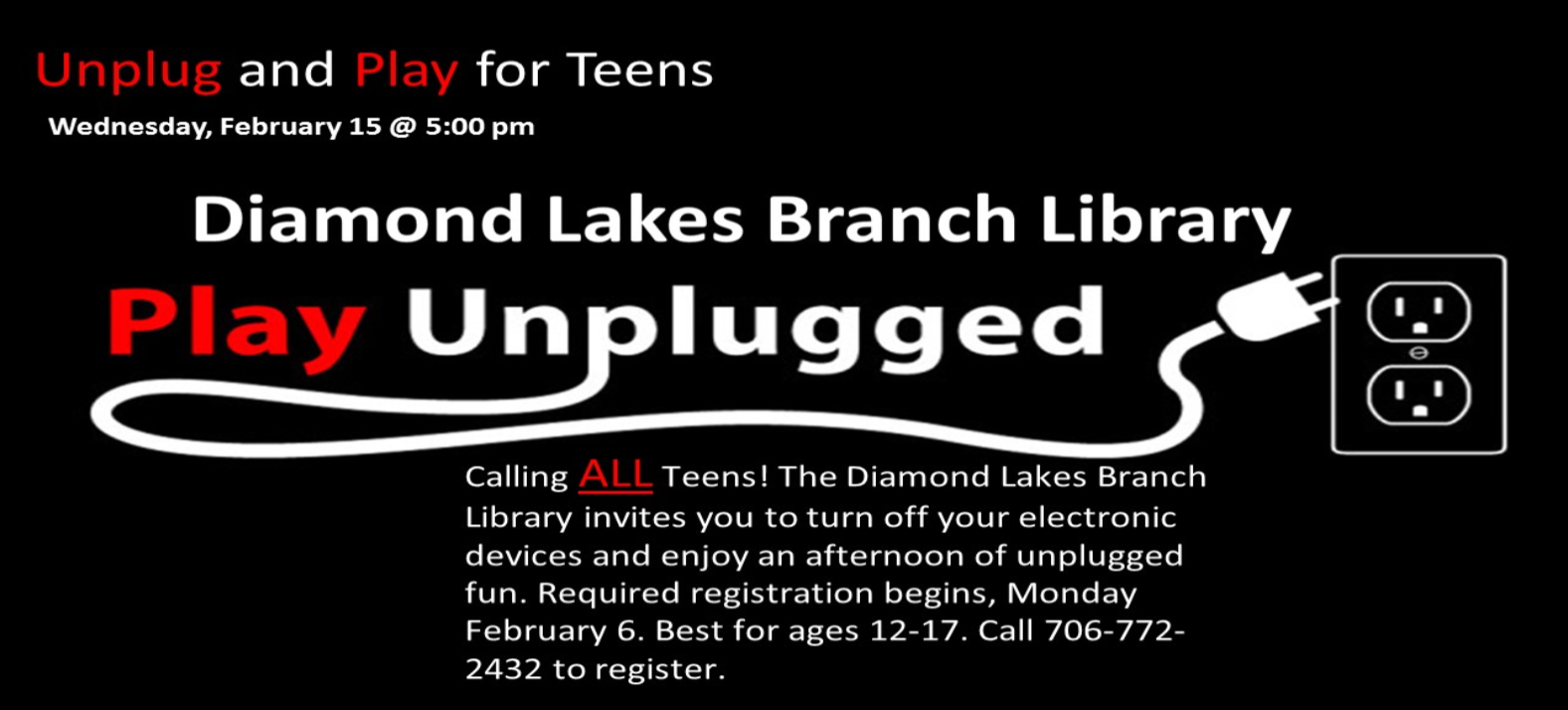 Unplug and Play for Teens