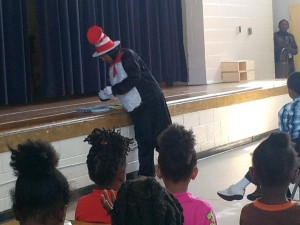 Dr. Suess's School Visit 2013