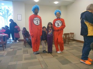 Dr. Seuss' Birthday Party 2013